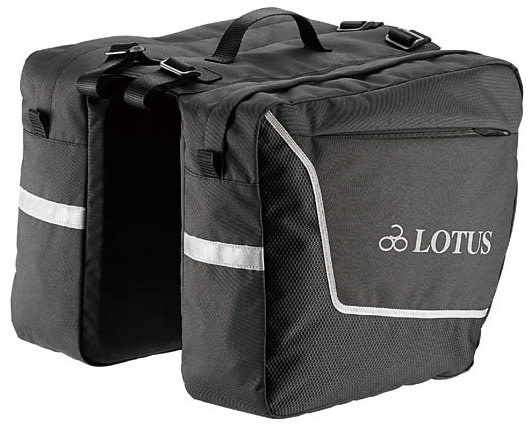 Lotus SH4-104G Commuter Double Pannier Bags (18L)