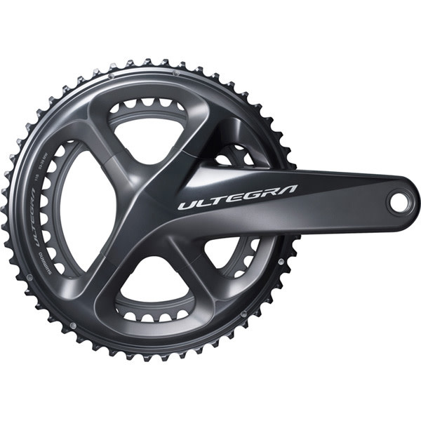 FC-R8000 Ultegra 11-speed double chainset, 50 / 34T 170 mm Grey 50 / 34 teeth