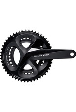 FC-R7000 105 double chainset, HollowTech II 170 mm 50 / 34T, black Black 50 / 34 teeth