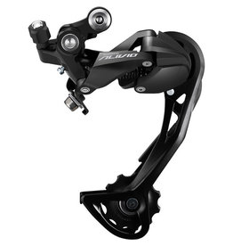 Shimano Alivio M3100 rear derailleur, 9-speed, Shadow design, SGS long cage