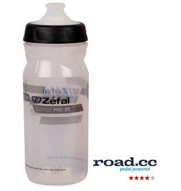 Zefal Zefal Sense Pro 650ml Water Bottle Clear/ Black