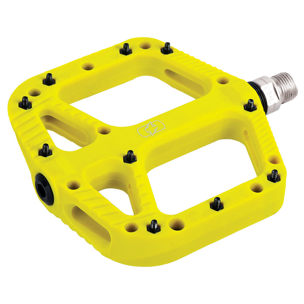 oxford Oxford Loam 20 Nylon Flat Pedals Yellow