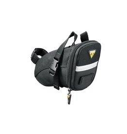 TOPEAK Topeak, Aero Wedge W/Straps Blk-Small