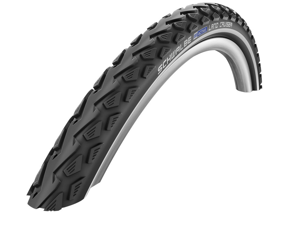 Primary ThumbnailSchwalbe Land Cruiser Kevlar Tyre (Wired) 24x1.75