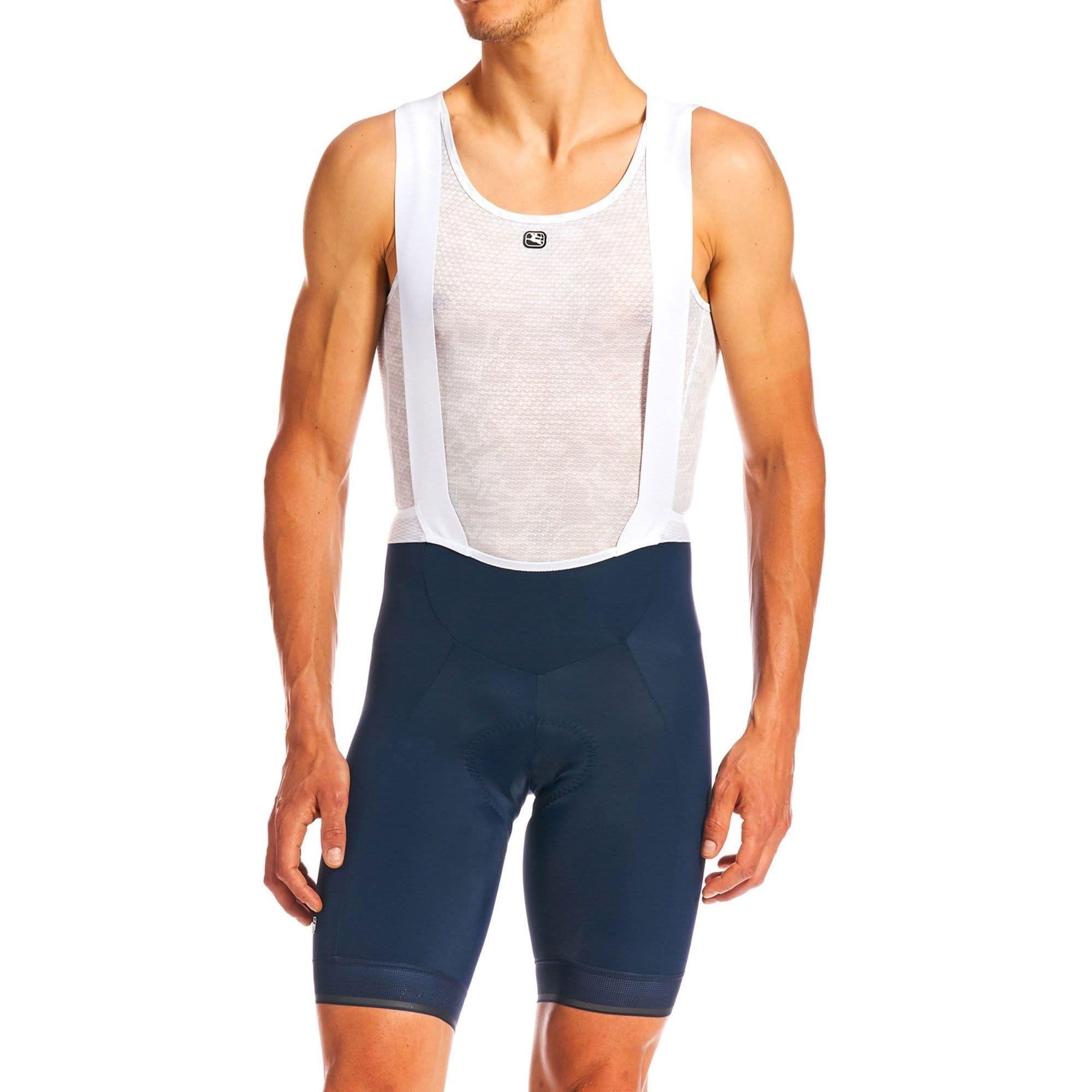 Giordana Giordana Fusion bib shorts - Midnight blue / Reflective XL