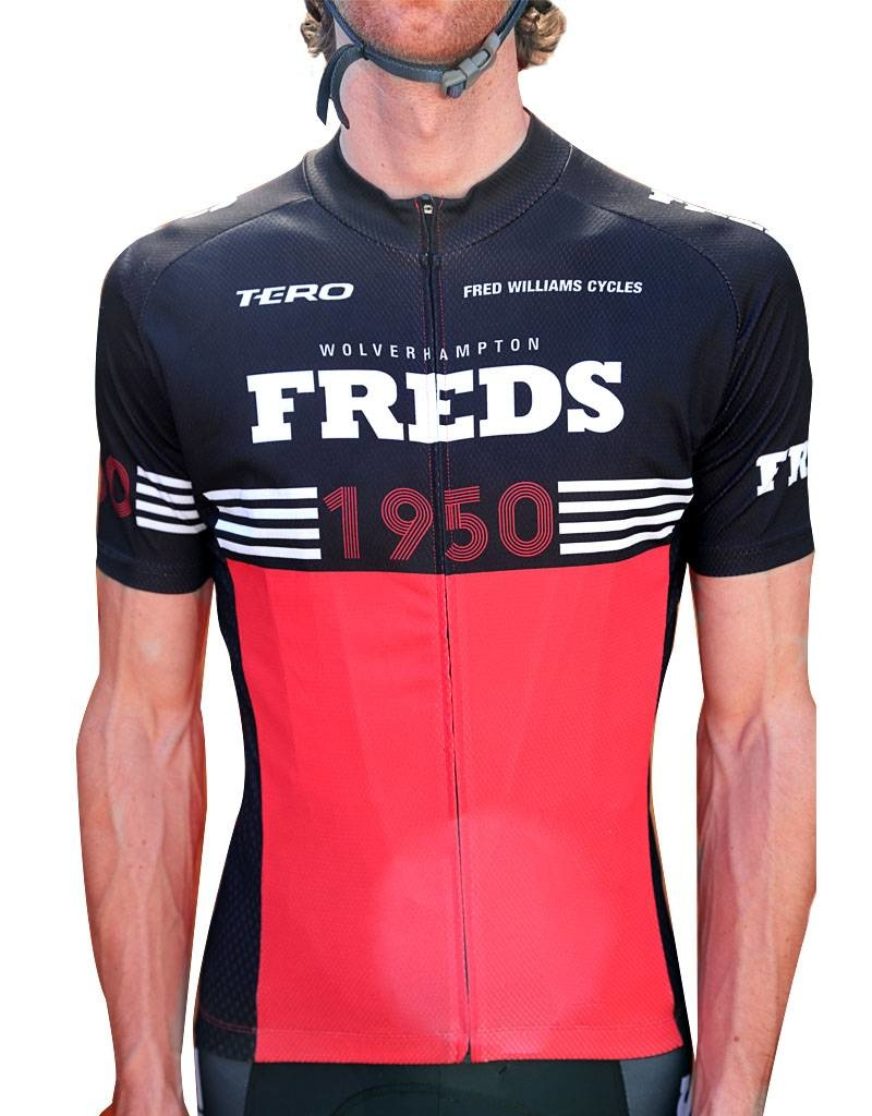 Freds Heritage Jersey red XS