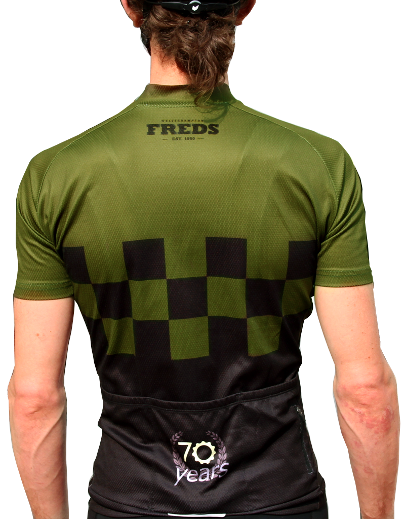 Freds Fred's 70th year Jersey