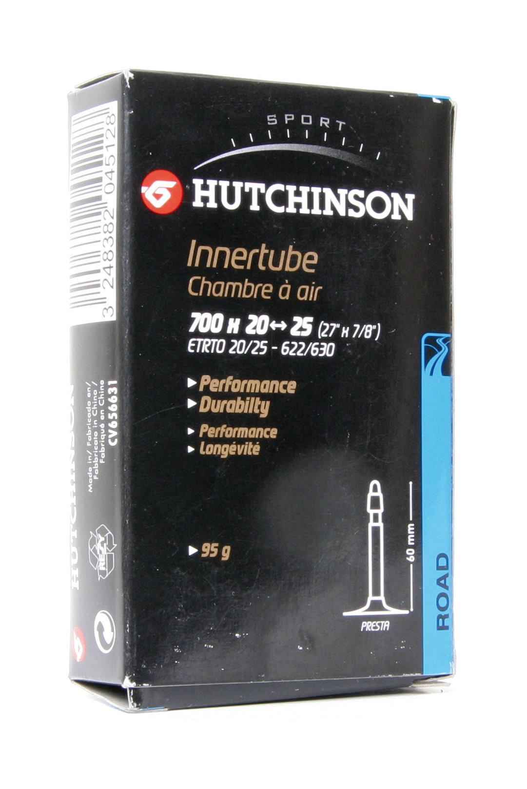 Hutchinson Standard Road Tube (700 _ 20 - 25, 80mm Presta)