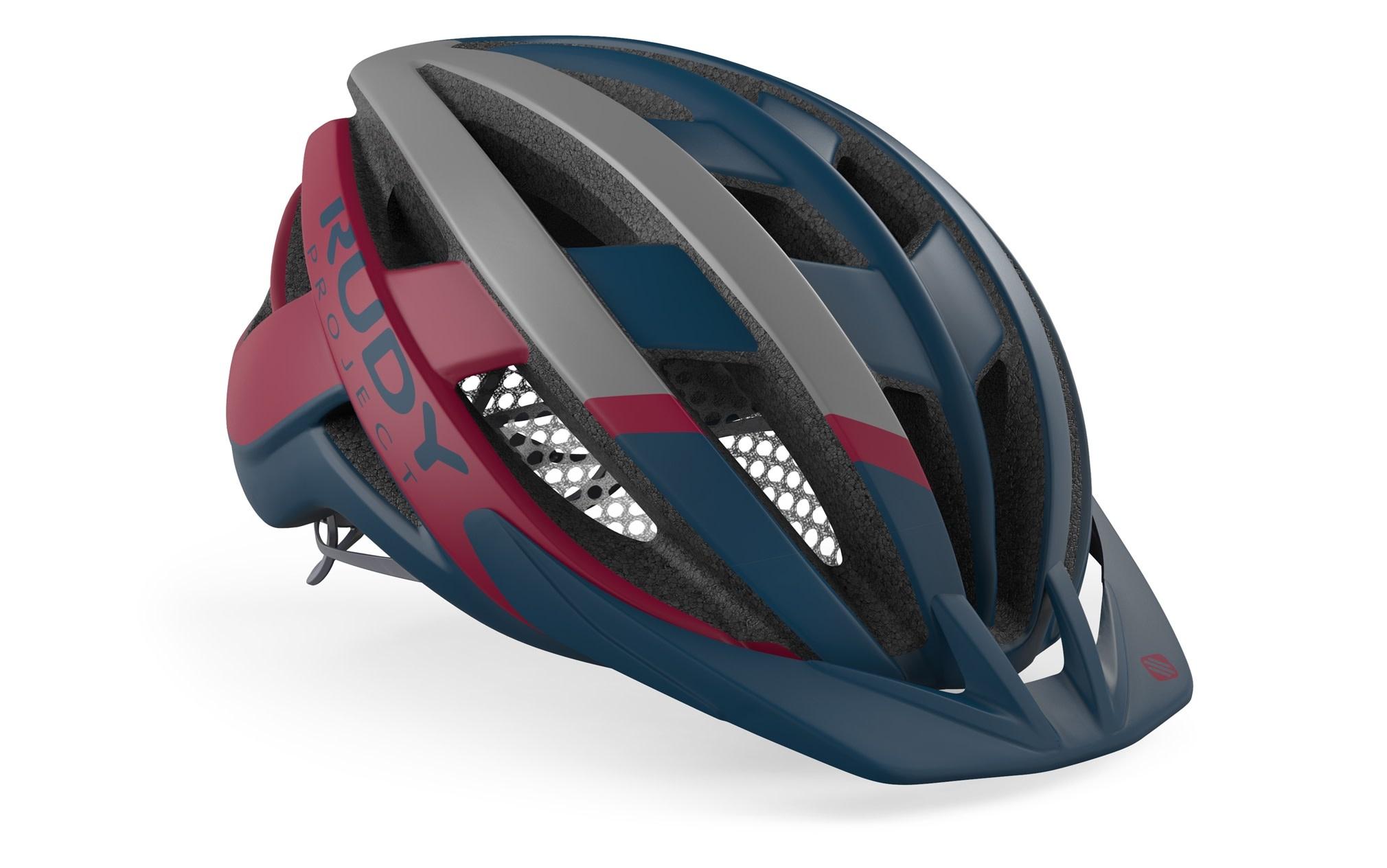 Rudy Project RudyProject Venger Cross Helmet Navy/Merlot Matte L