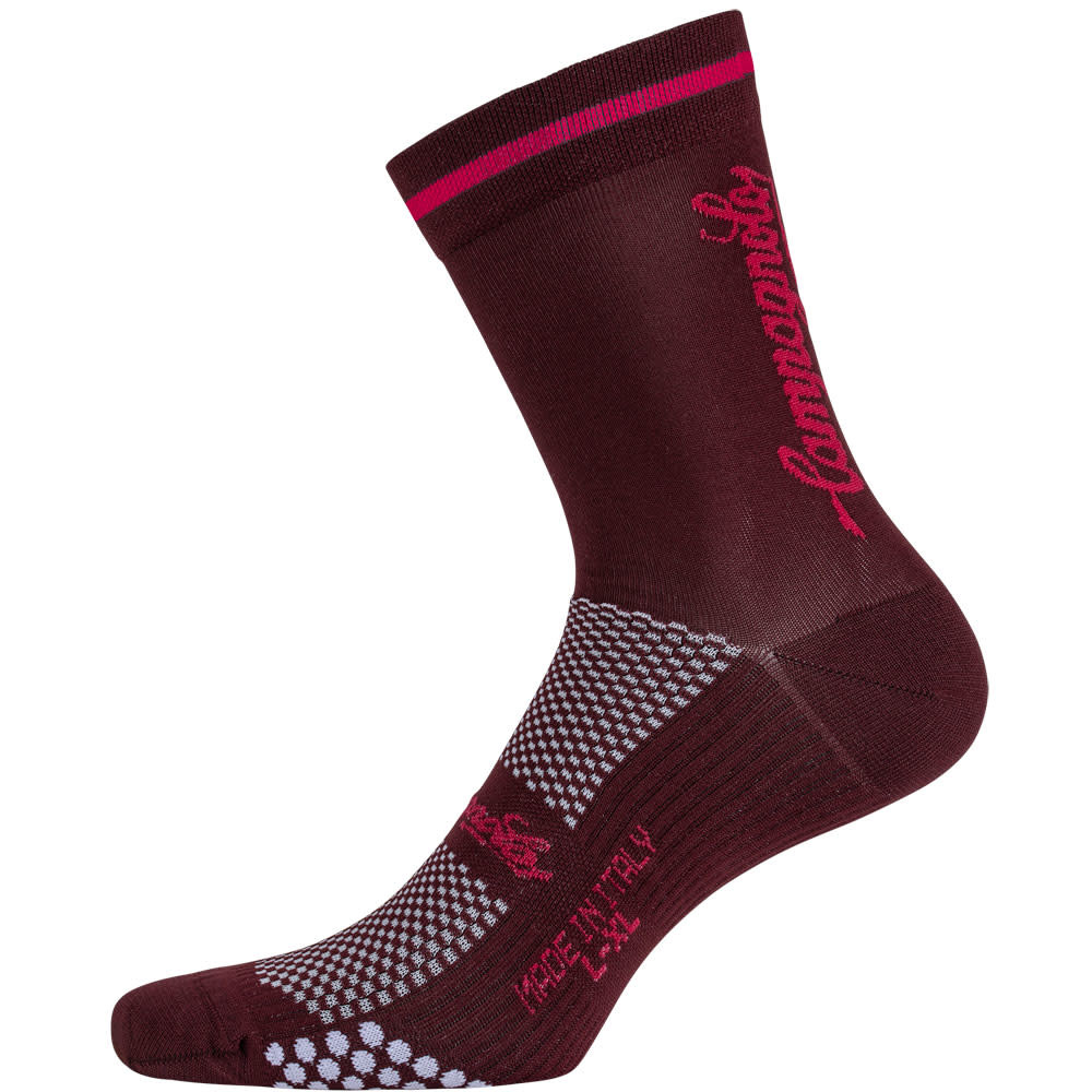 Campagnolo Clothing New Litech Socks Red L/XL