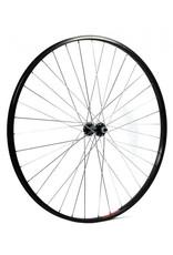 KX wheels KX Hybrid 700C Doublewall Solid Axle Wheel Rim Brake in Black (Front)