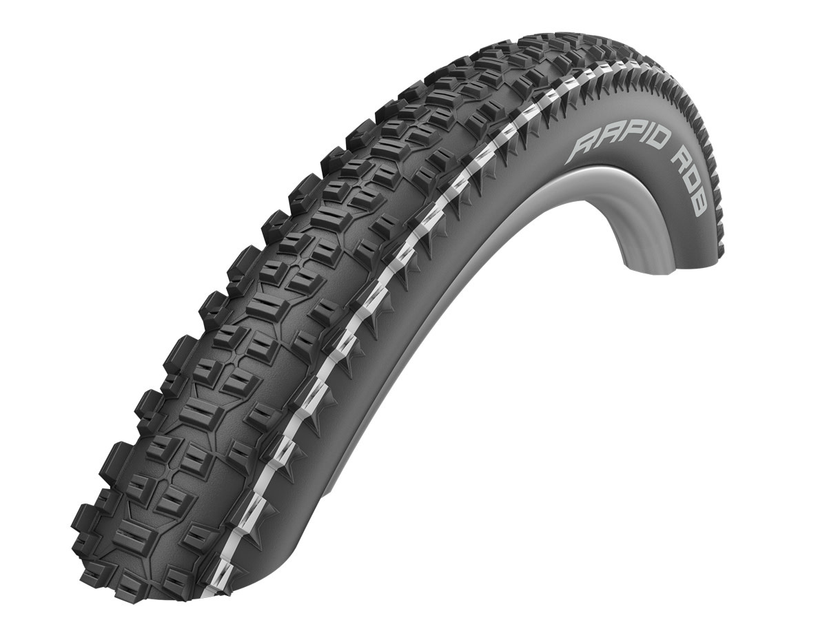 Schwalbe Rapid Rob Active Line All Terrain Tyre in Black/White - 29 x 2.25