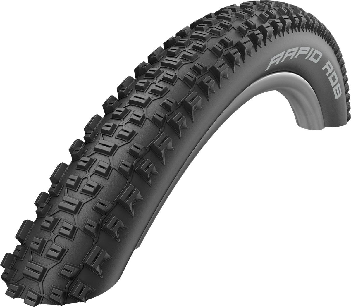 Schwalbe Rapid Rob Active Line All Terrain Tyre in Black - 29 x 2.10