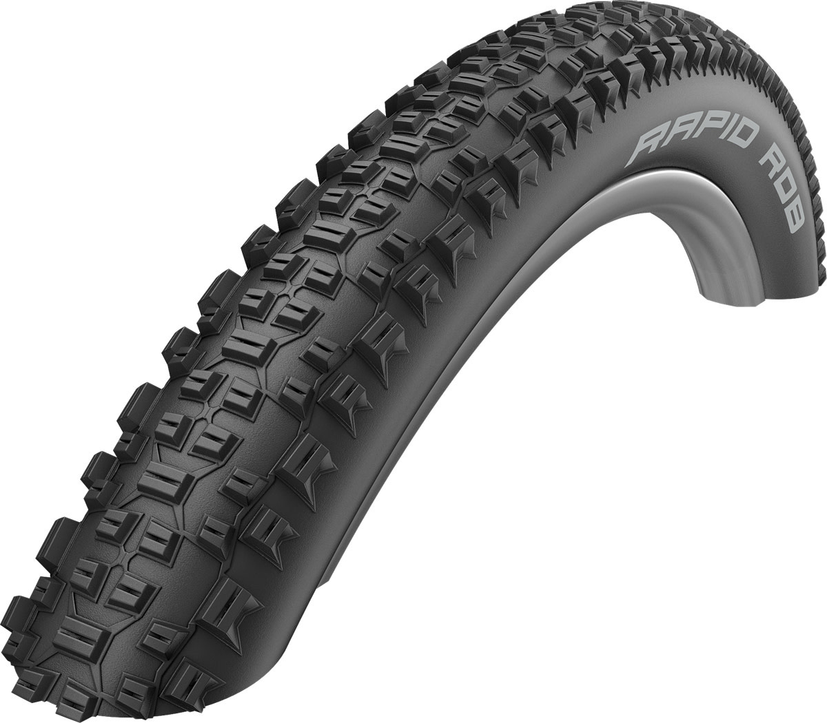 Schwalbe Schwalbe Rapid Rob Active Line All Terrain Tyre in Black - 29 x 2.10