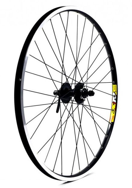"KX wheels KX MTB 26"" Doublewall Q/R Screw On Wheel Disc Brake (Rear) - Black"