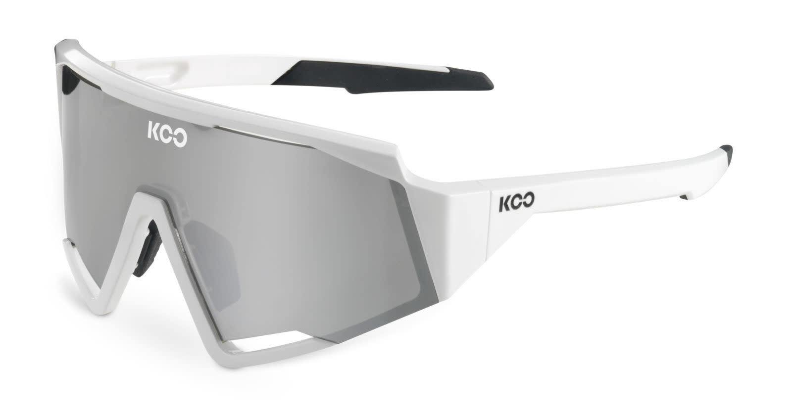 Koo KOO Spectro White/Silver  Lense Super Silver mirror