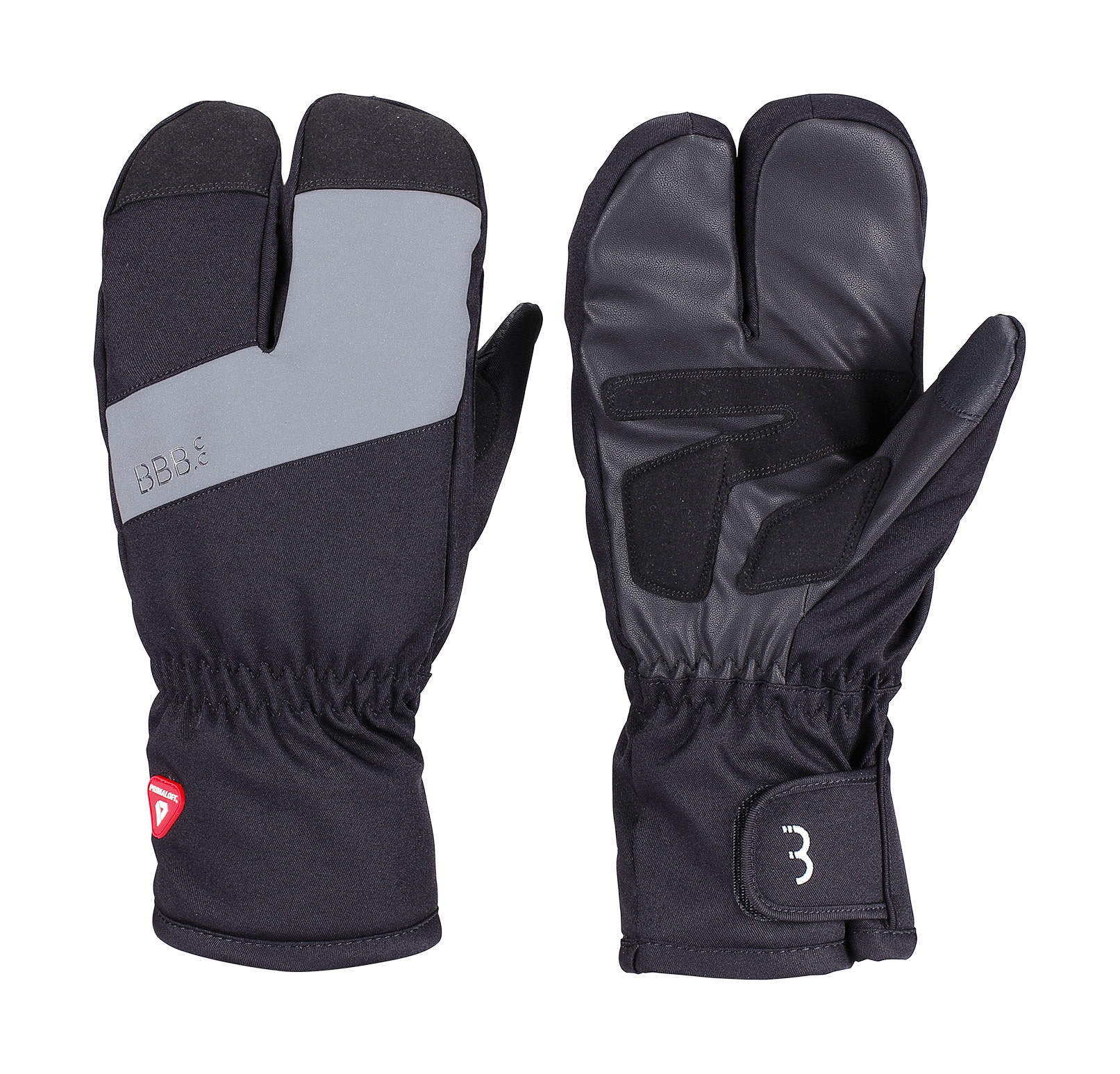 BBB BWG-35 - SUBZERO 2 X 2 WINTER GLOVES (BLACK, L)