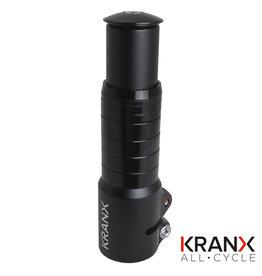 Kranx KranX Alloy A/Head Stem Riser - Black