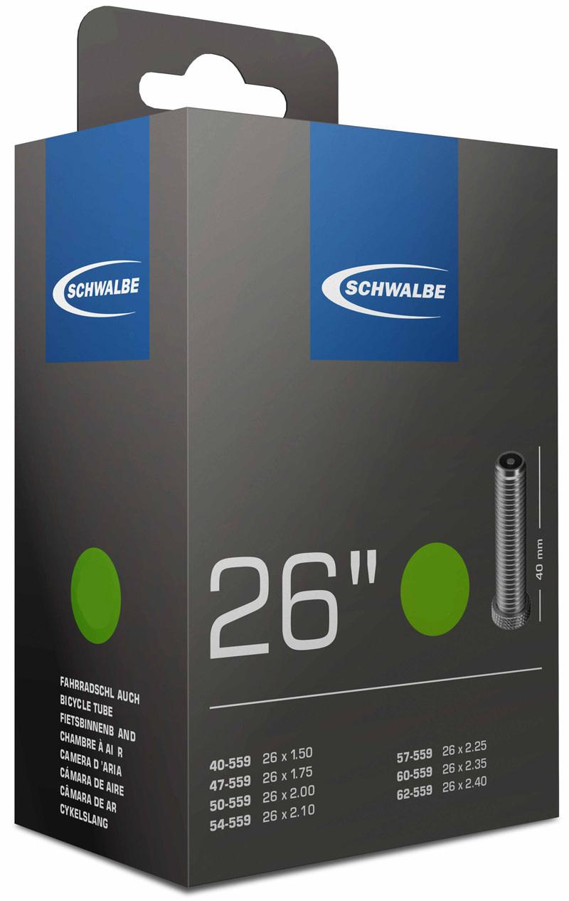 Schwalbe Tyres Schwalbe AV13 - 26 x 1.50 / 2.50'' - Schrader - 40mm