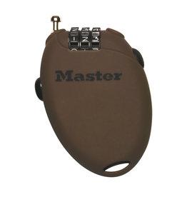 MASTER LOCK  RETRACTABLE CABLE LOCK 70CM Brown