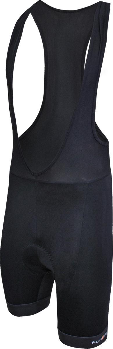 Funkier Funkier F-Max 17 Panel 4-Way Bib Shorts (B1 Pad) in Black - Medium