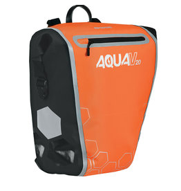 oxford Oxford Aqua V 20 Single QR Pannier Bag Orange/Black
