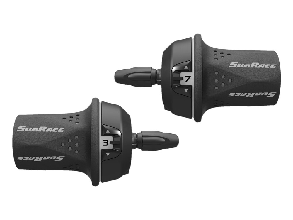 Sunrace Sunrace 7 Speed Twist Shifter Grey
