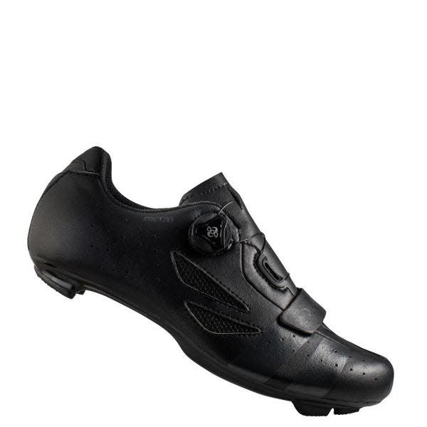 LAKE Lake CX176 Road Shoe Wide Fit Black/Grey 46