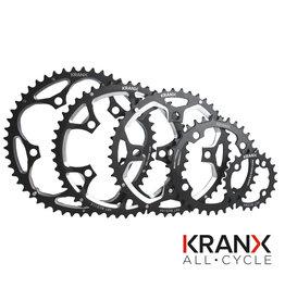 Kranx KranX 130BCD Alloy Chainring in Silver - 38T Pressed
