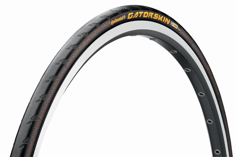 Continental Continental Gatorskin Black Tyre (Folding) - 700 x 25mm