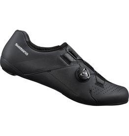 Shimano Shimano RC3 (RC300) SPD-SL Shoes, Black, Size 45 Wide