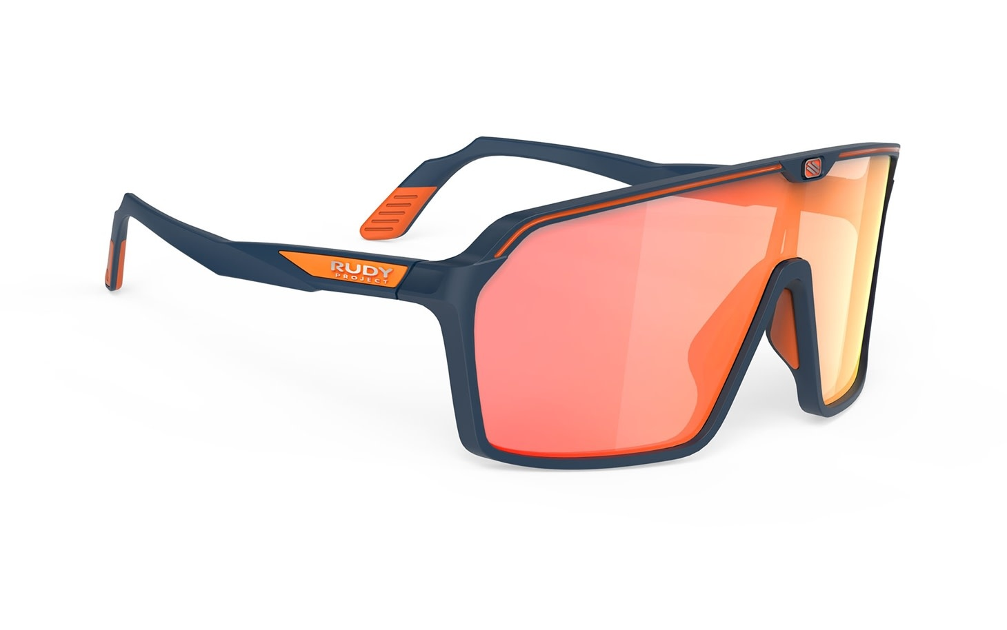 Rudy Project Rudy Project SPINSHIELD Partager Blue Navy Matte - RP Optics Multilaser Orange