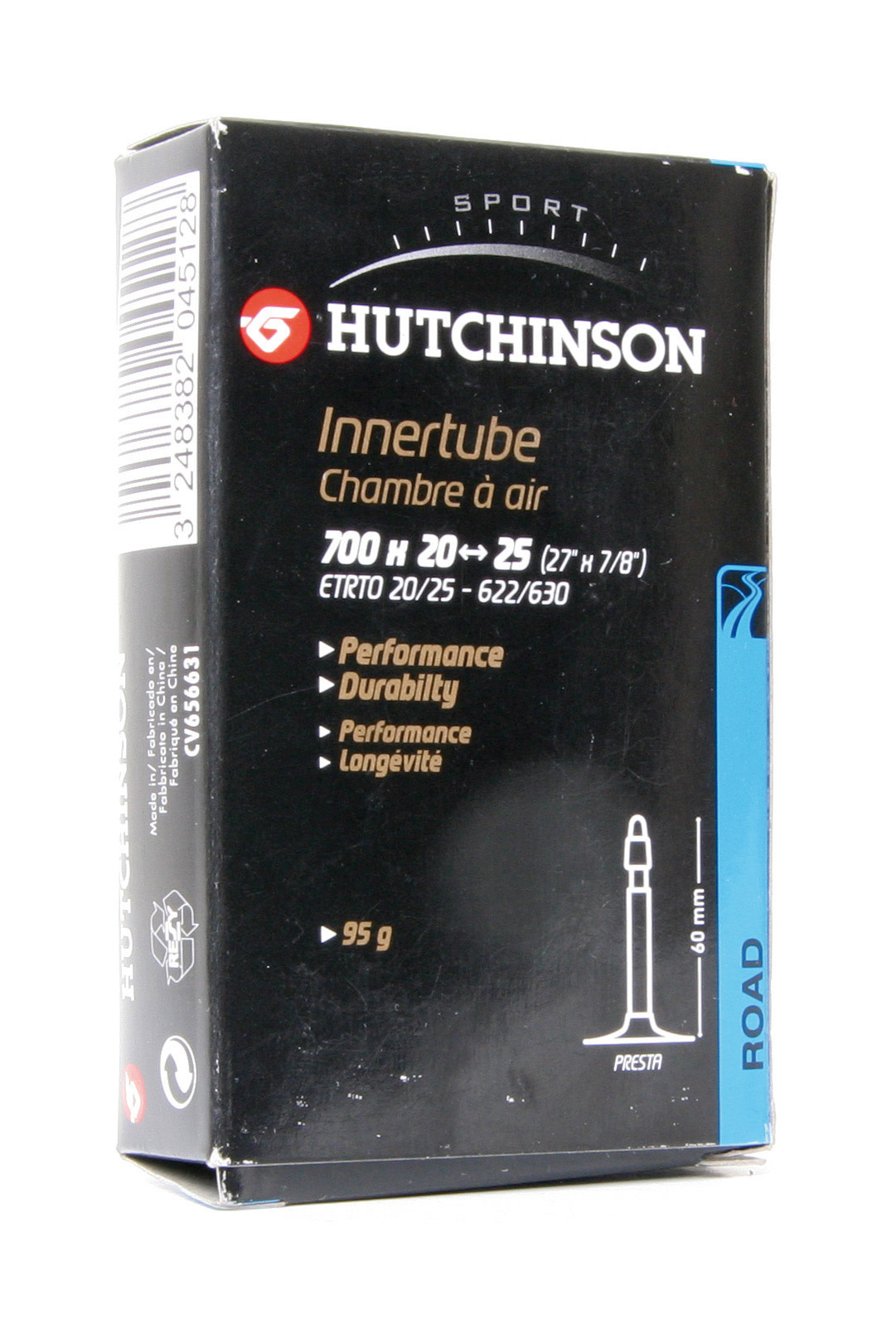 Hutchinson Standard Road Tubes Set _2 (700 _ 28 - 35, 48mm Presta)