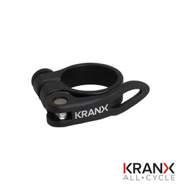 KranX Alloy Q/R Seat Clamp in Black - 31.8mm