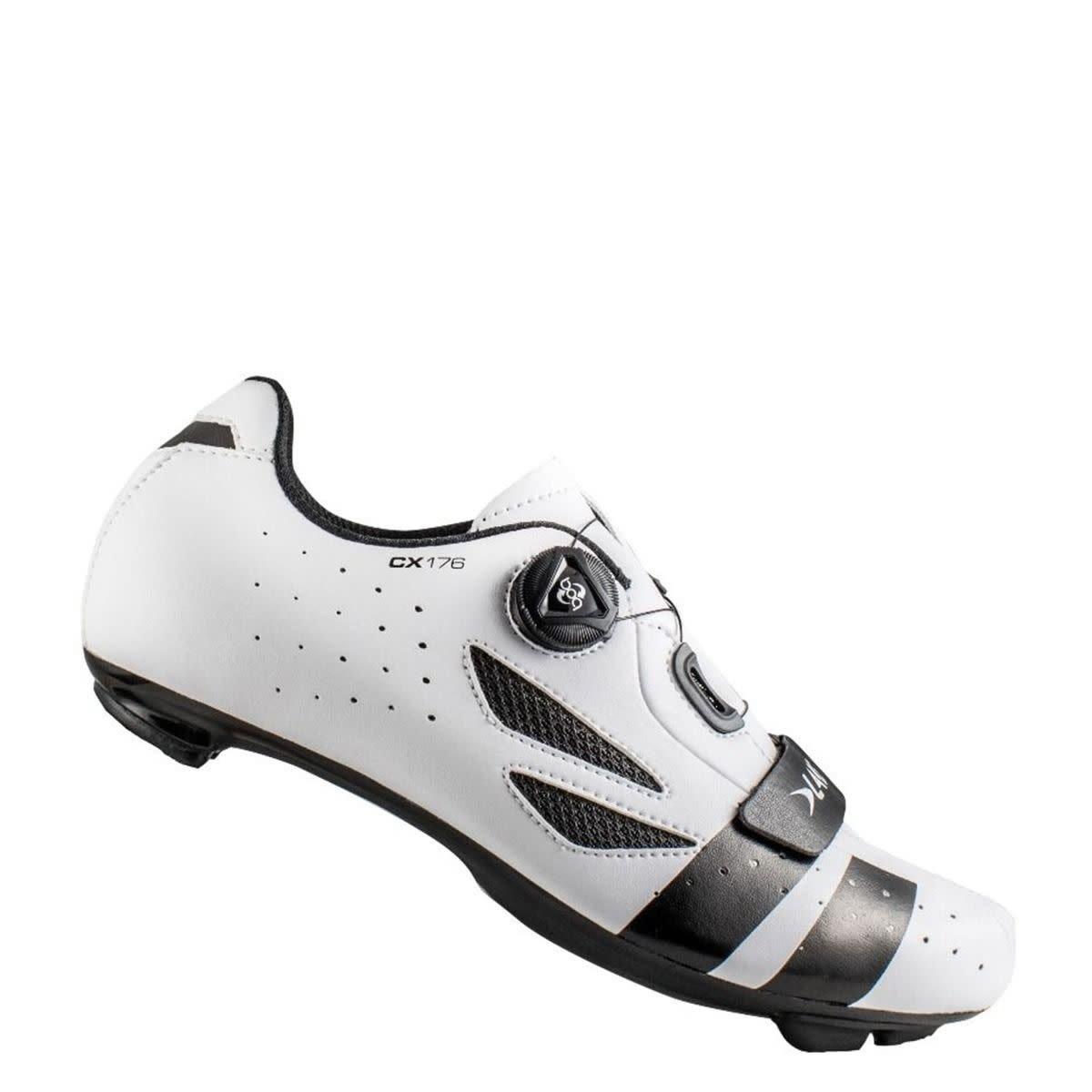 LAKE Lake CX176 White/Black Cycling Shoes