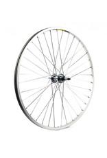 "KX wheels KX MTB 26"" Singlewall Solid Axle Screw On Wheel Rim Brake (Rear) - Silver"