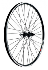 KX wheels KX HYBRID 700C D/WALL Q/R CASS REAR WHEEL BLK