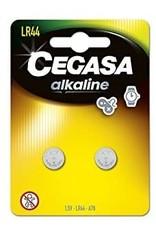 Cegasa Alkaline LR44 Computer Battery - 2 Battery