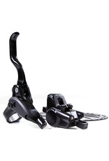 CLARKS CLOUT1 TWO PISTON HYDRAULIC BRAKES FRONT AND REAR F160/R160 - IS MOUNT: BLACK