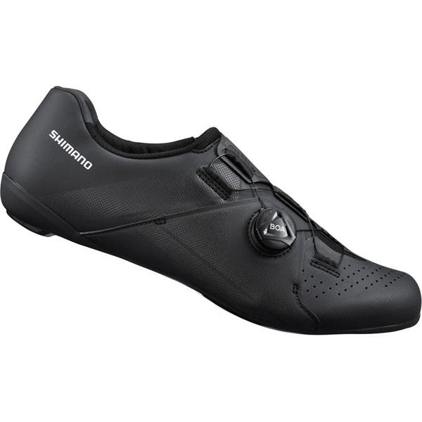 Shimano RC3 (RC300) SPD-SL Shoes, Black, Size 45