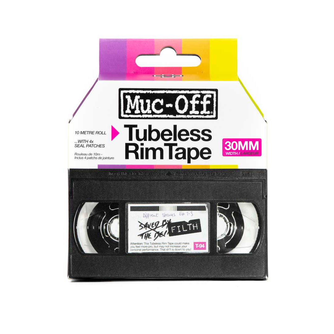 Muc-Off, Tubeless Rim Tape, 10m, 30mm