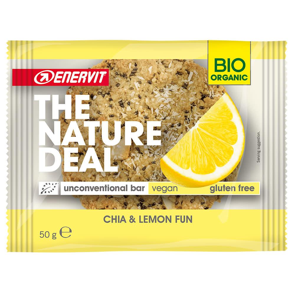 Enervit Nature Deal Cookie 50g Chia & Lemon