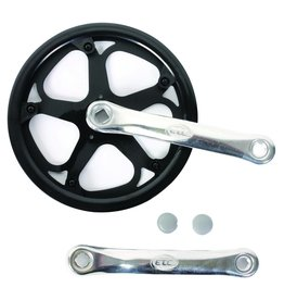 C/Set 48T 170Mm Black/Silver With Guard