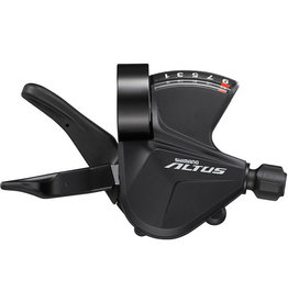 Shimano SL-M2010-9R Altus shift lever, band on, 9-speed, right hand