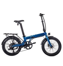 "Eovolt Eovolt Confort - 20"" Folding Electric Bike - Blue"