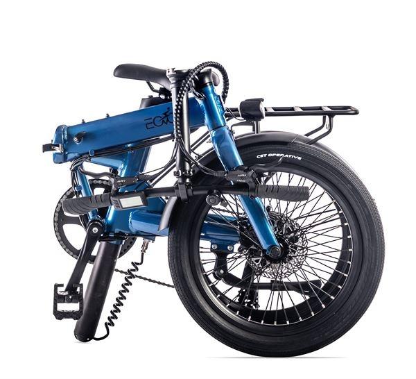 """Eovolt Eovolt Confort - 20"""" Folding Electric Bike - Blue"""