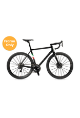 Colnago Campagnolo 2021 C64 50s Frame, Matte Carbon , Gloss Black lugs, Italy