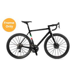 Colnago Colnago 2021 C64 50s Frame, Matte Carbon , Gloss Black lugs, Italy