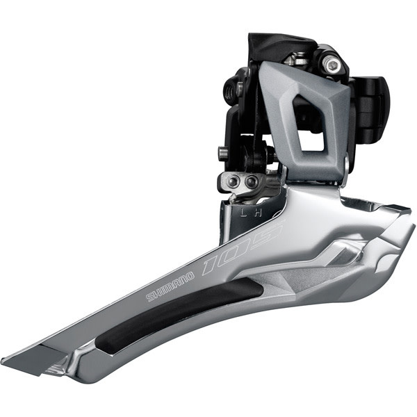 FD-R7000 105 11-speed toggle front derailleur, double braze-on, silver Silver 11-Speed Braze-on
