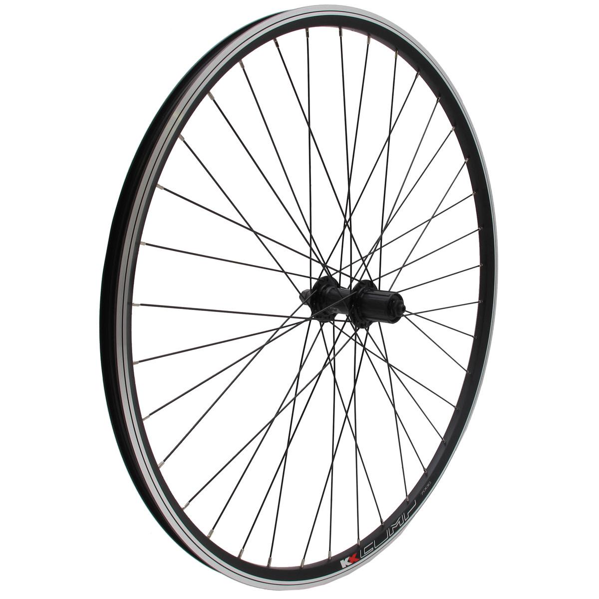 "KX wheels KX MTB 26"" Doublewall Q/R Cassette Wheel Disc Brake (Rear) - Silver"